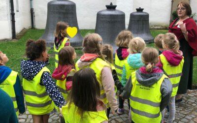 Schmetterlingskinder erkunden Bad Essen